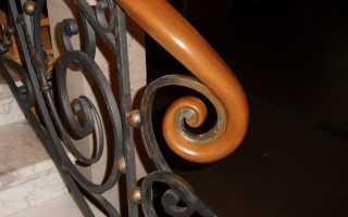 Деревянные поручни для лестниц: выбор материала и цена изделия