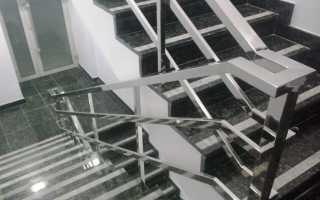 Ступени из нержавеющей стали: сварные конструкции разного предназначения