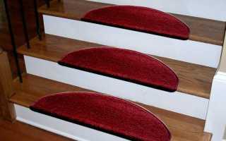 Коврики на ступени лестницы, ковровые накладки: безопасность, уют, комфорт