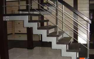 Лестницы на металлокаркасе и на металлических косоурах — как сделать