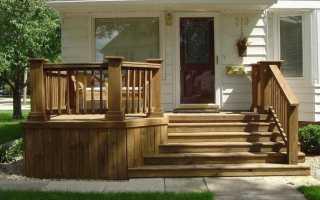Деревянное крыльцо для частного дома: устройство простого крыльца из дерева к веранде, конструкция на сваях, чертежи