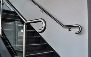 Поручни из нержавейки для лестницы и их главные особенности