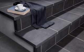 Керамогранит для крыльца на улице: облицовка ступеней морозостойкой противоскользящей, гранитной плиткой