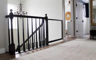 Особенности ворот безопасности для детей на лестницу
