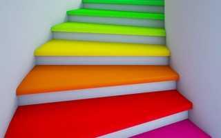 Покраска лестниц своими руками: выбор краски и последовательность работ