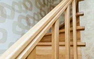 Как построить лестницу из сосны своими руками