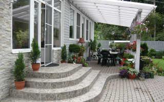 Изготовление и монтаж входной лестницы в частный дом своими руками