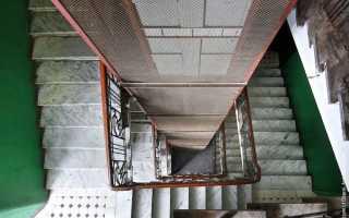 Незадымляемые лестничные клетки типа Н1 и Н2: эвакуационные лестницы