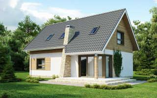 Двускатная крыша с мансардой: виды и особенности строительства