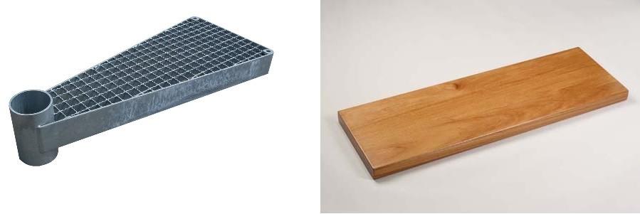 Две разные ступени