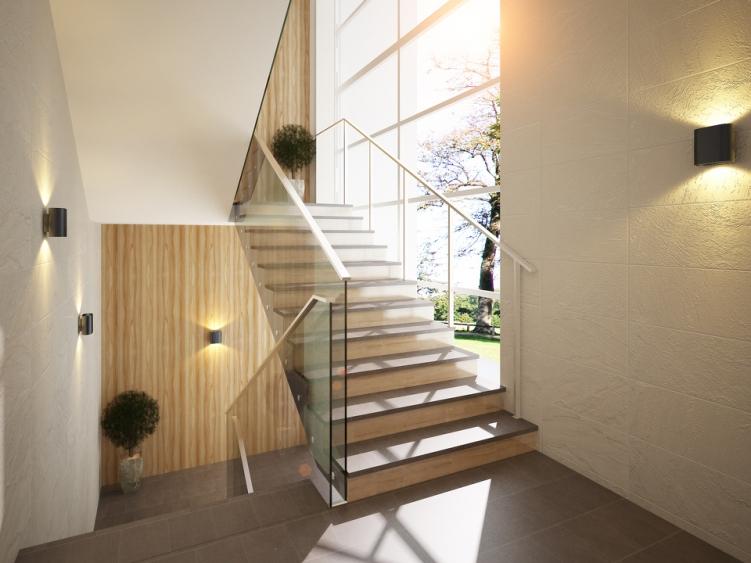Лестничная клетка офисного здания