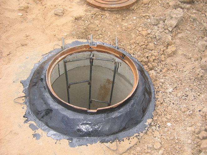 канализационная лестница