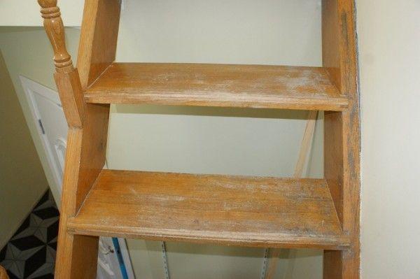 Лестница, построенная с ошибками