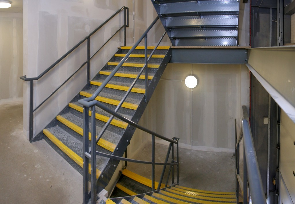 Пожарная лестница для эвакуации