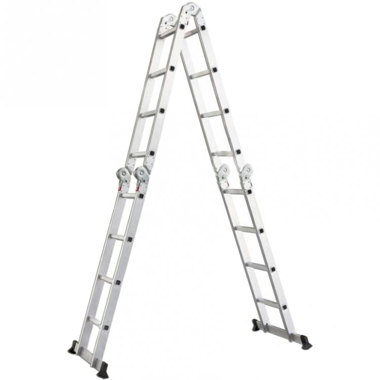 Раскладная шарнирная лестница