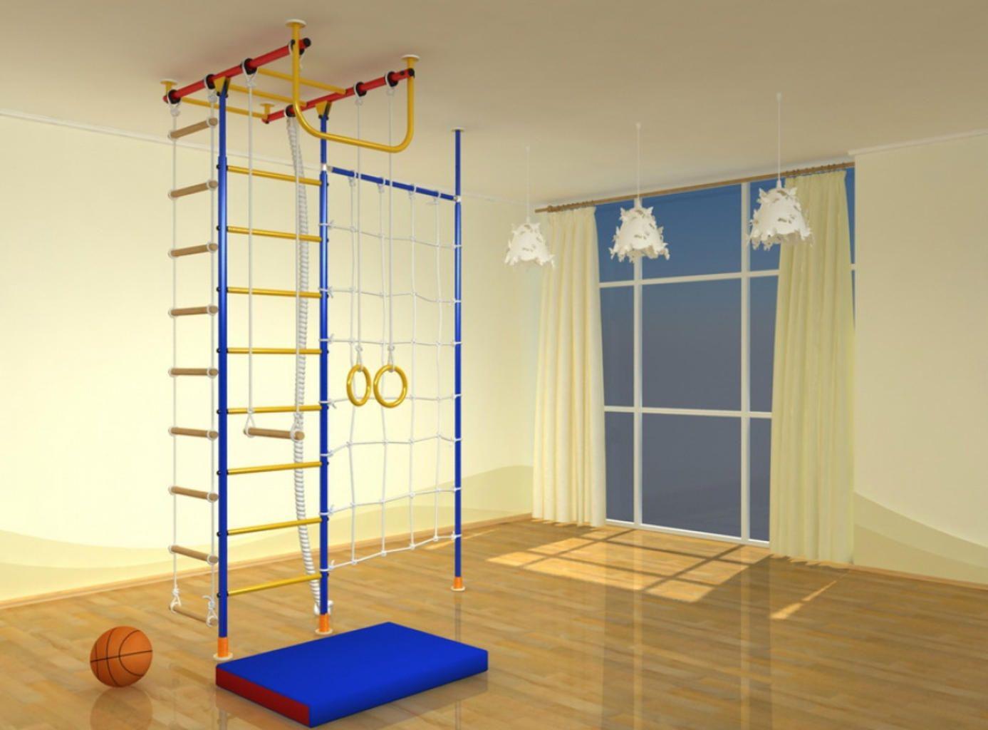 Детские спортивные лестницы: особенности выбора