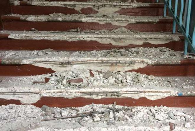 Ступеньки бетонные