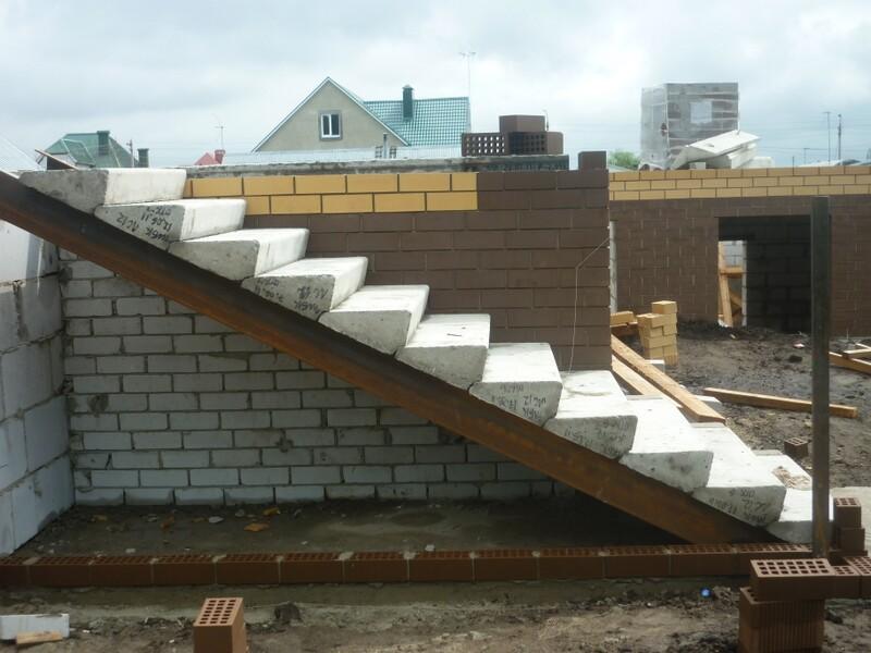 При монтаже лестницы следует использовать те ступеньки, которые соответствуют требованиям ГОСТ