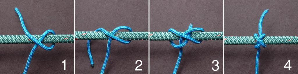 узел для веревки