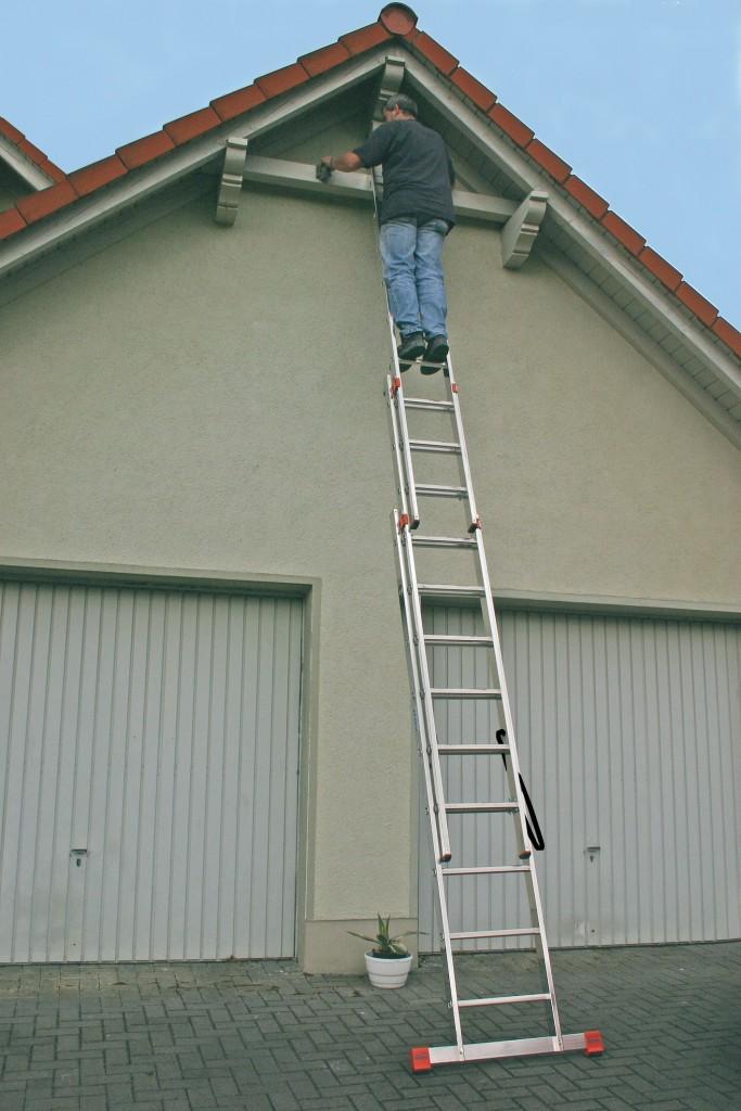Приставные алюминиевые лестницы