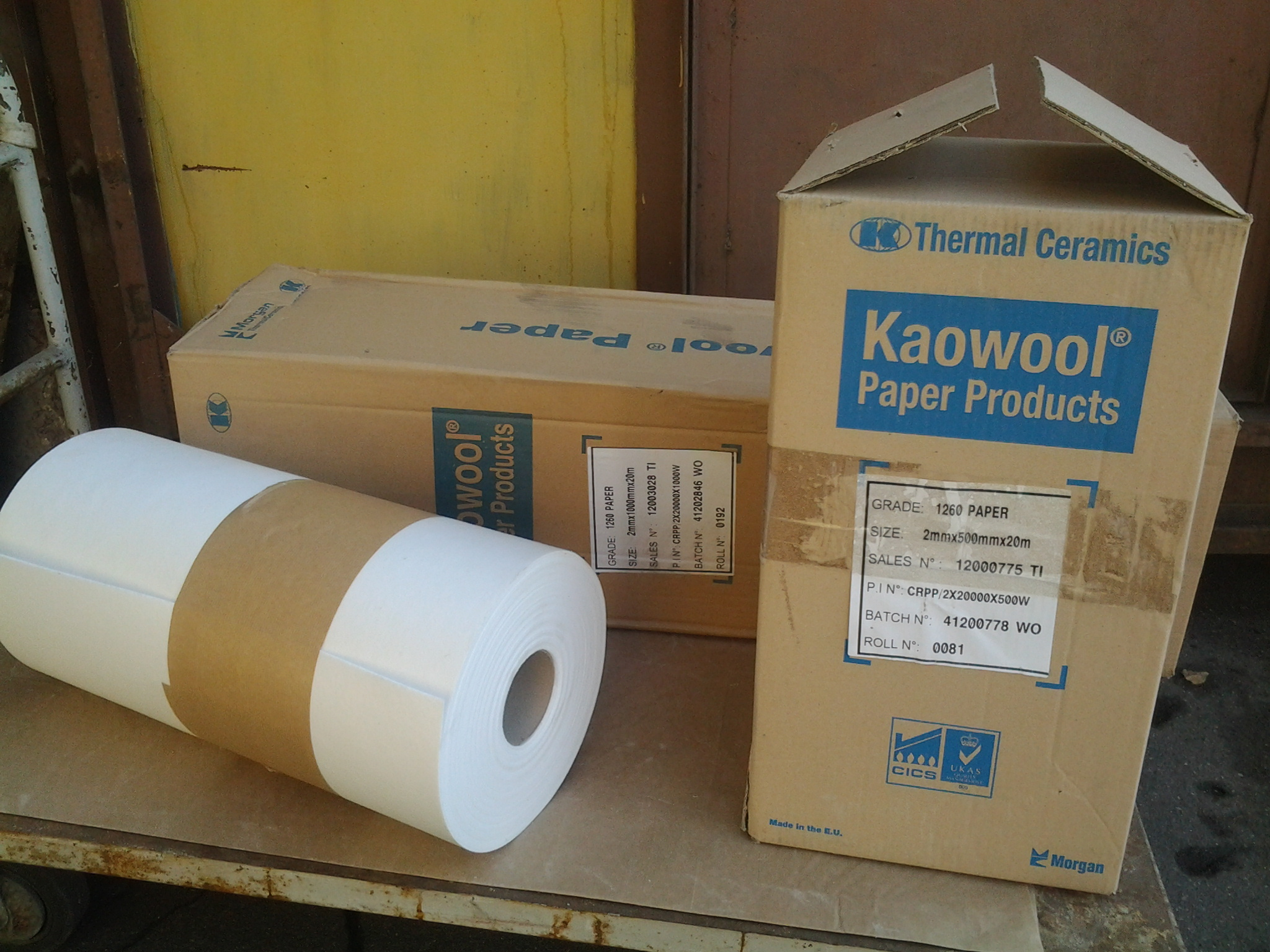 теплоизоляционная бумага