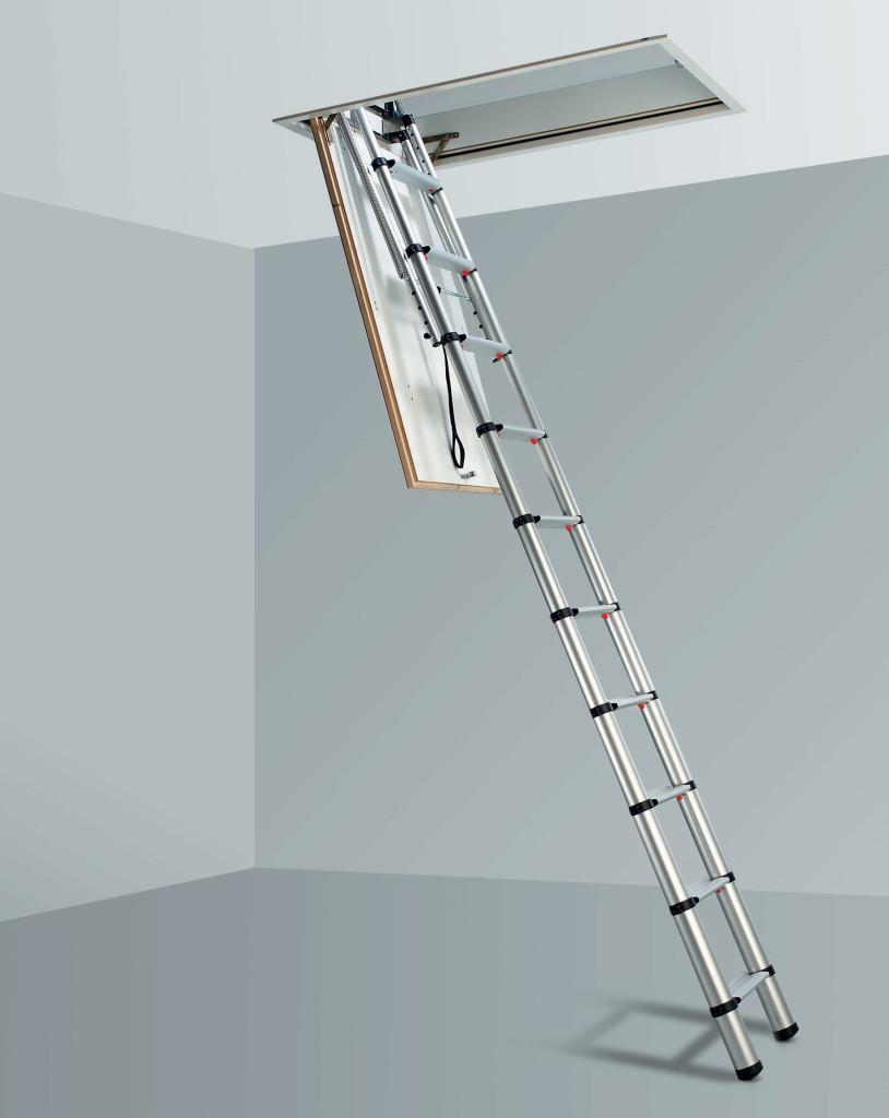 телескопическим лестницам