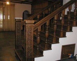 Декоративные балясины – украшение лестниц