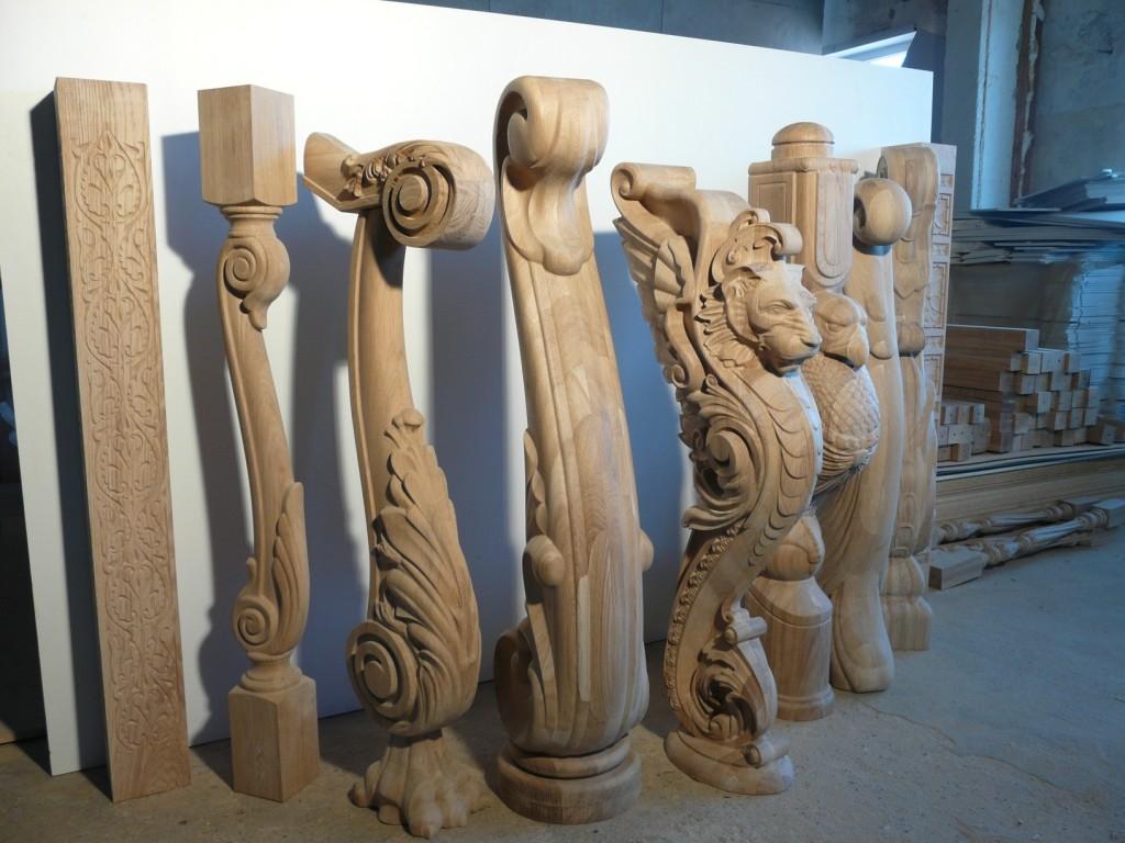 деревянные балясины
