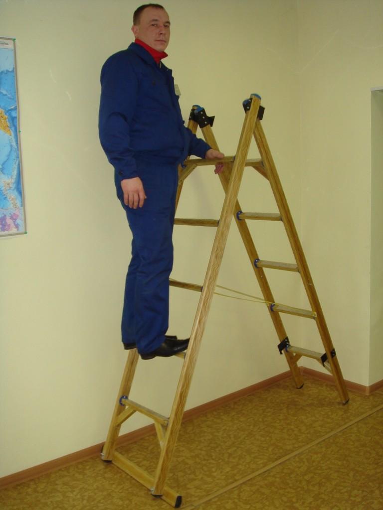 Складная диэлектрическая лестница