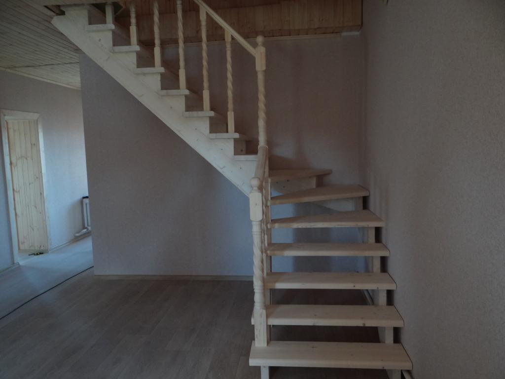 Хороший просчет расположения для забежной лестницы.