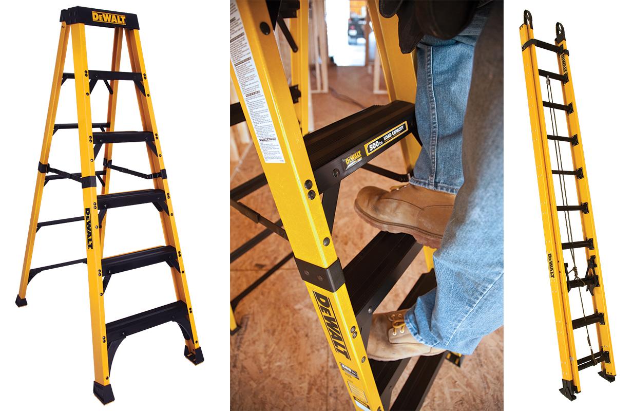 Профессиональная лестница стремянка.