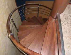 Украшение спиральных лестниц
