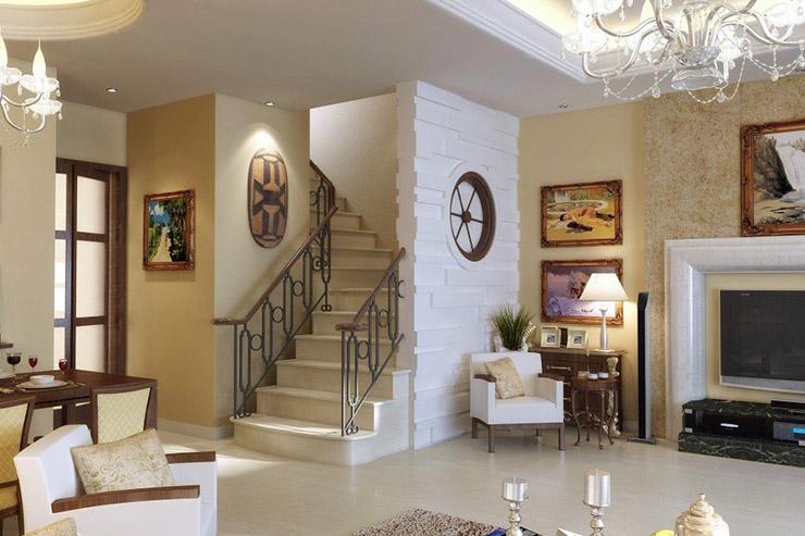 гостиная_лестница