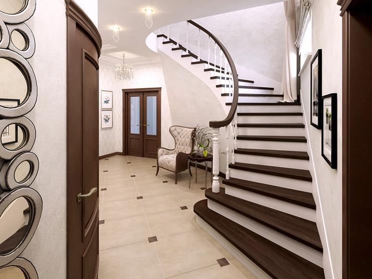 холл_лестница_дизайн