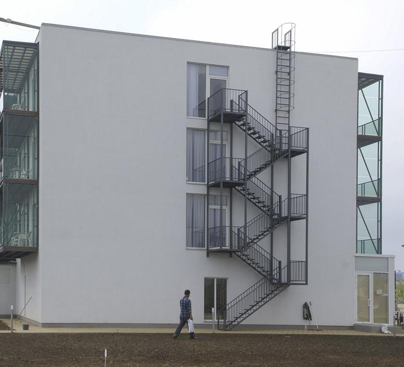 Эвакуационная наружная лестница