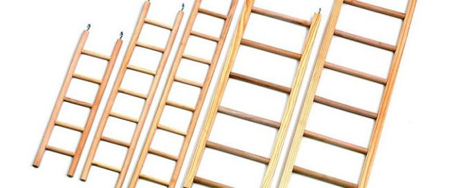 Приставная лестница из дерева своими руками