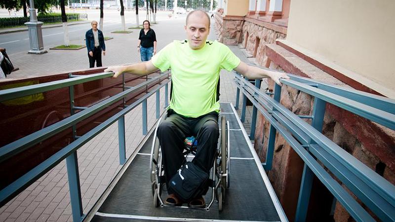 пандус для инвалидов