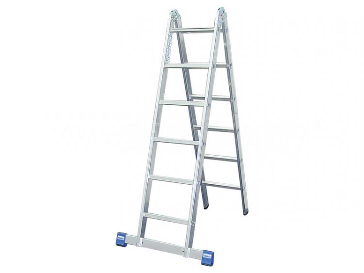 Лестница двухсекционная шарнирная