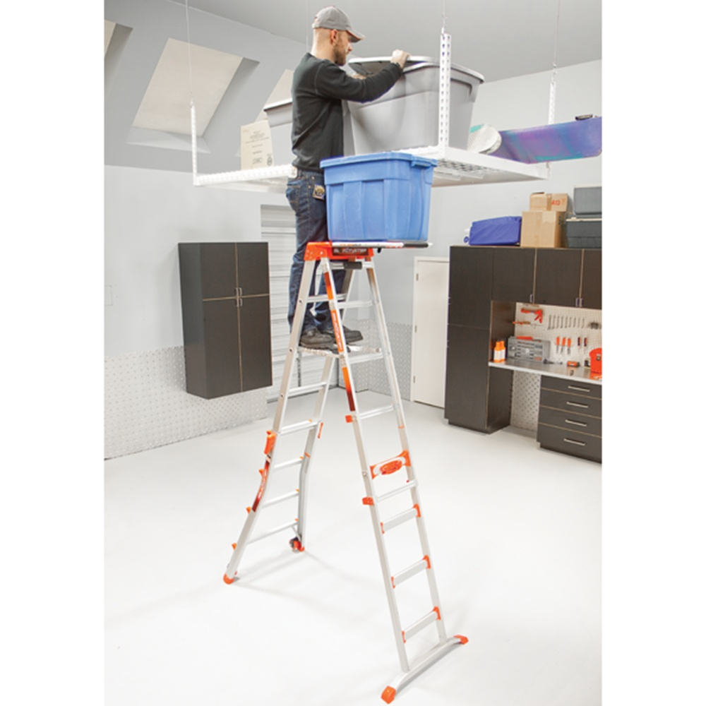 алюминиевая лестницы-стремянка в виде шалаша