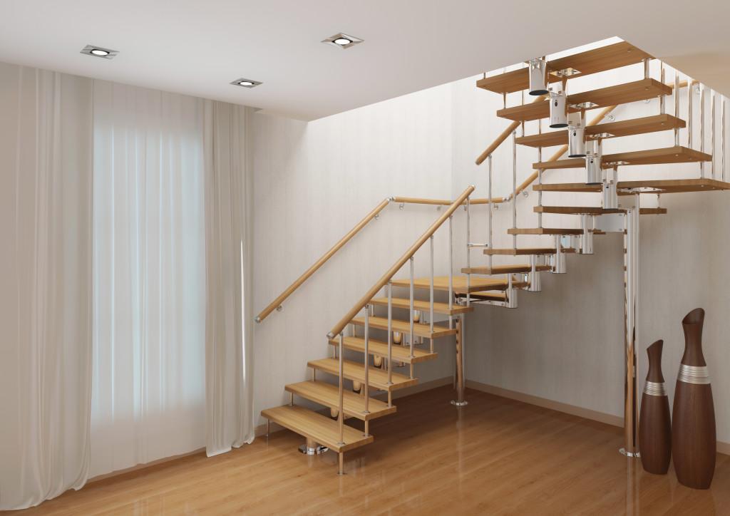 модульную лестницу