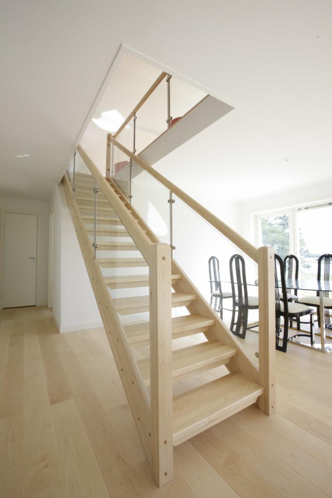 виды домашних лестниц