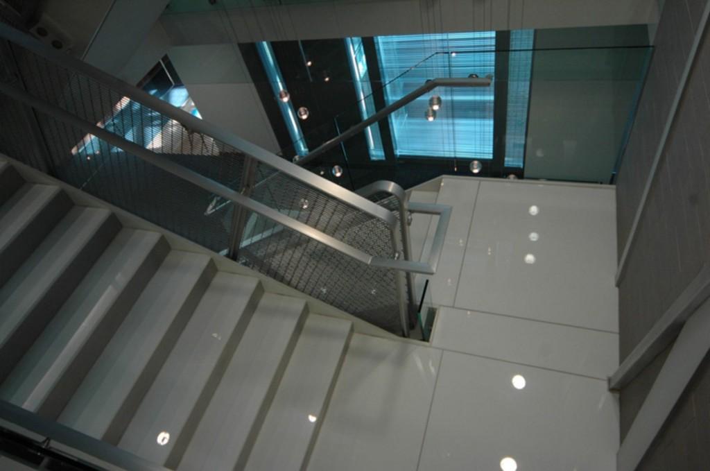 Эвакуационная лестница из бетона