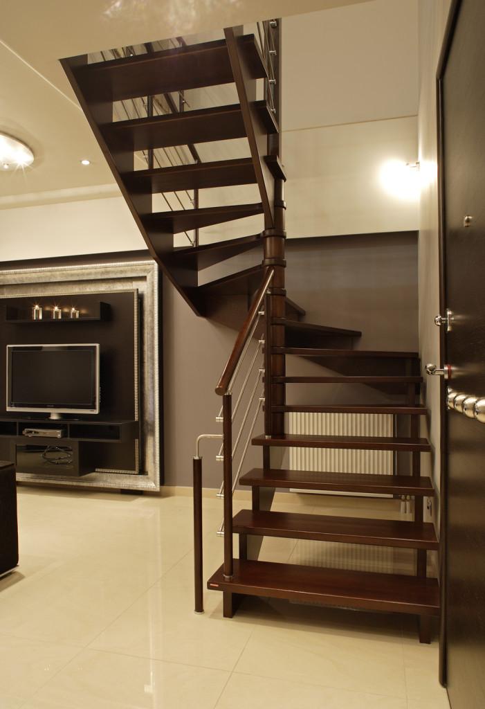 Трехмаршевая лестница