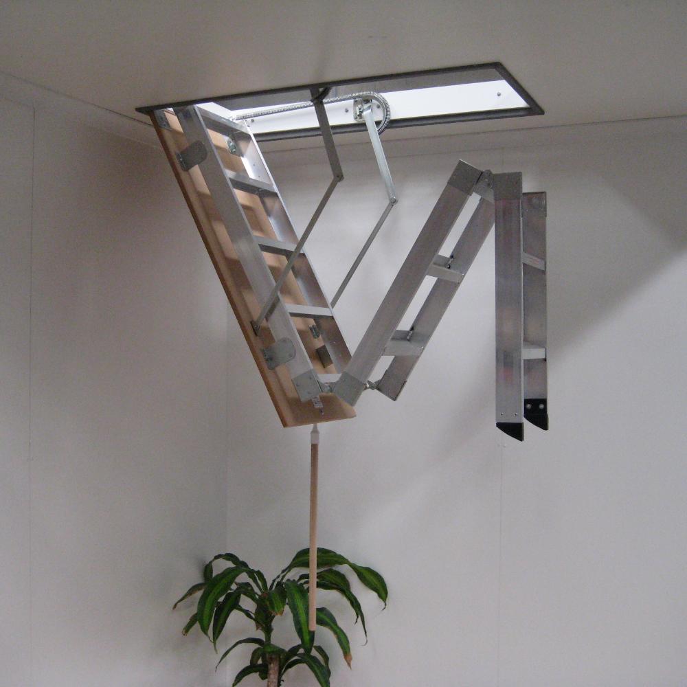 Складные металлические лестницы