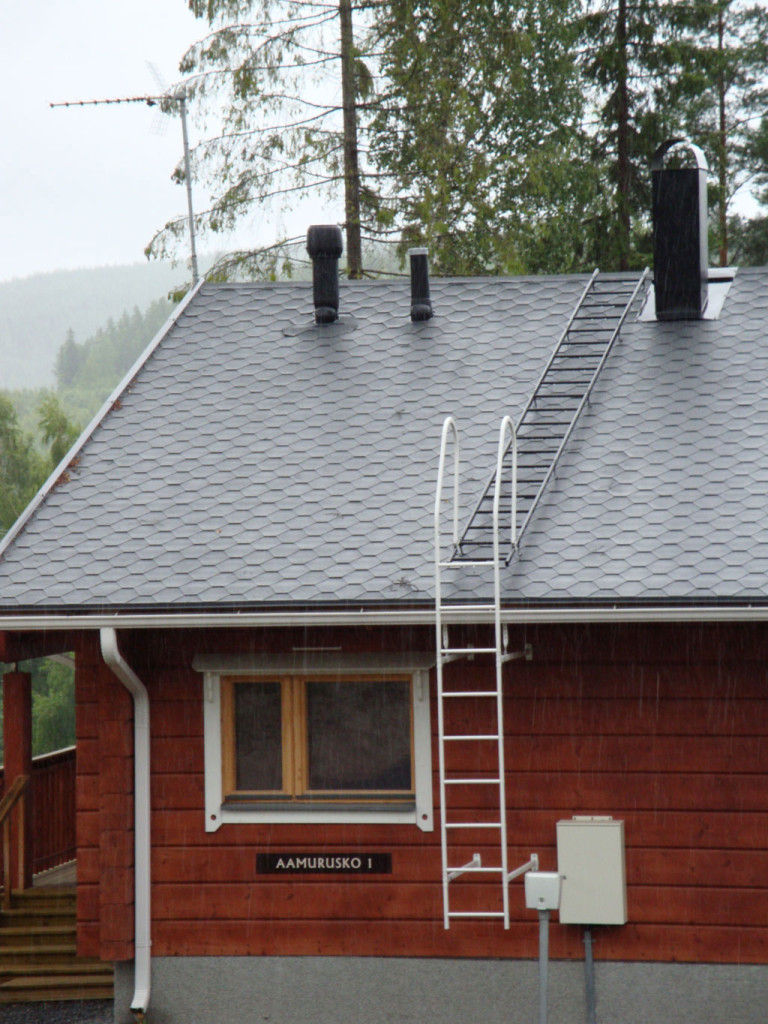 Лестница для крыши