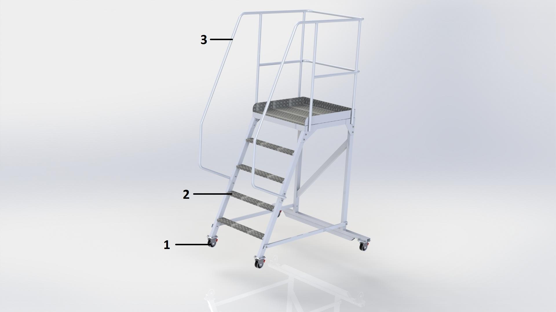 лестница платформа