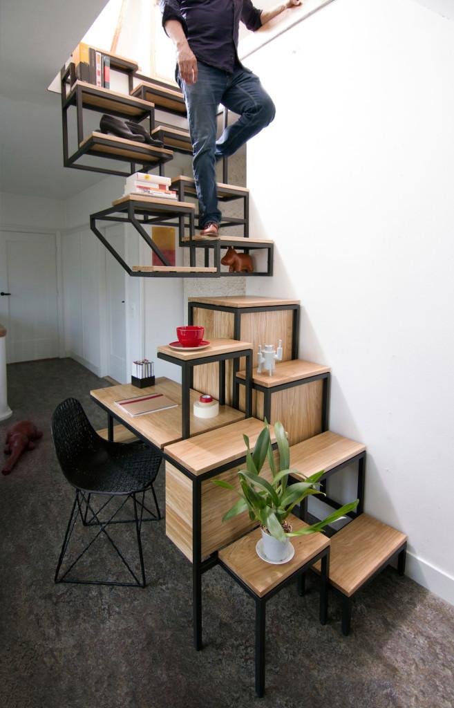 двухмаршевые лестницы