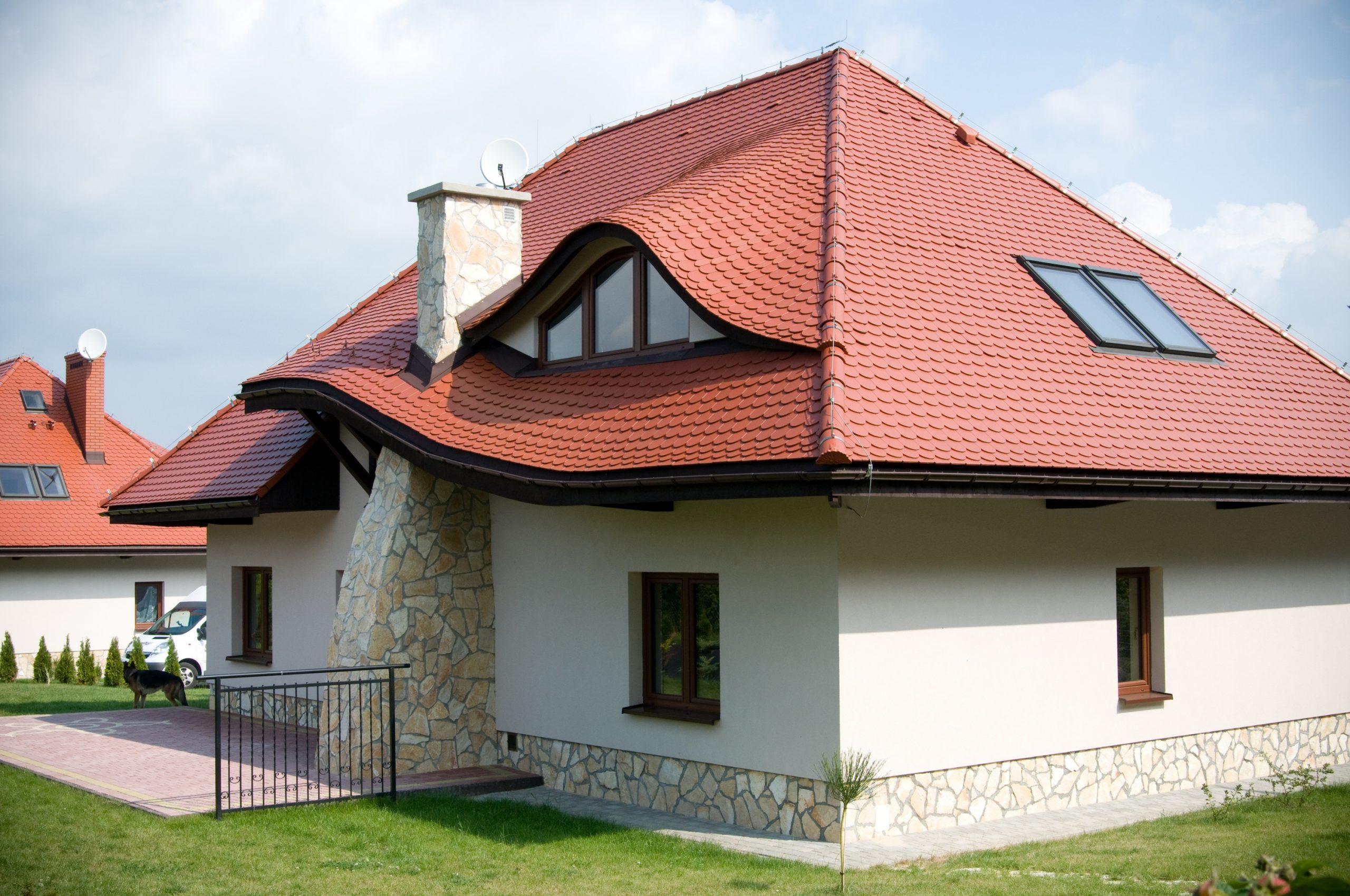 Крыши из металлочерепицы фото шоколад снимки, демонстрирующие
