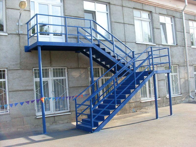 Обеспечение безопасности пожарной лестницы