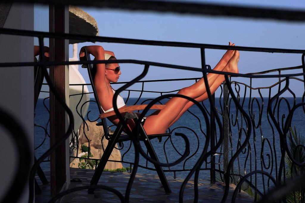 перила на балконе